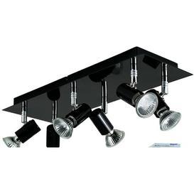 image-Laverne 6-Light Ceiling Spotlight Zipcode Design Fixture Finish: Black, Bulb Type: Warm White LED Bulbs, Bulb Colour Temperature: 3000K