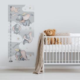 image-Dumbo Height Chart Wall Sticker Grey