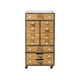 image-12-Drawer Storage Unit on Castors