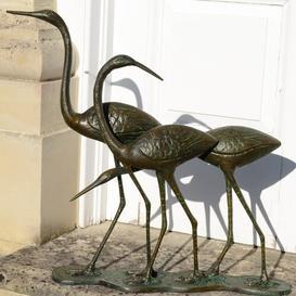 image-Cael Egrets Statue