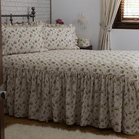 image-Adalynn Mae Bedspread Fleur De Lis Living Size: W142 x L196cm