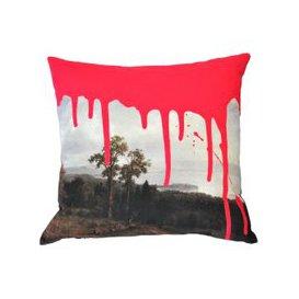 image-Drip Cushion (colour: Pink)