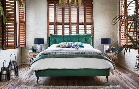 Bedroom furnishings from Barker and Stonehouse